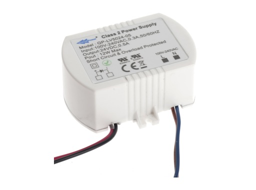 Alimentation • 12W 24V 500mA IP65