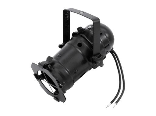 Projecteur PAR 16 noir CE BT12V GX5,3