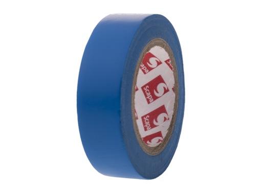 100 rouleaux PVC bleu 15mm x 10m 102536 • SCAPA