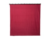PENDRILLON / TAPS PLOMBE • Molleton Coton Bordeaux L 3 m H 7 m M1 320 g/m2-textile