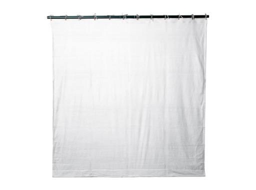 PENDRILLON / TAPS PLOMBE • Molleton satin Blanc L 3 m H 3,5 m M1 320 g/m2