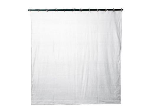 PENDRILLON / TAPS PLOMBE • Molleton satin Blanc L 3 m H 7 m M1 320 g/m2