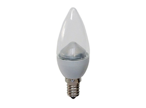 GE • LED flamme claire 4,5W 230V E14 2700K 250lm 20000H gradable