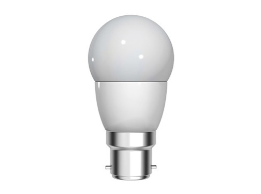 GE • LED Sphérique 4W 230V B22d 2700K 270lm 15000H ø42mm L 76mm