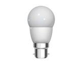 GE • LED Sphérique 4W 230V B22d 2700K 270lm 15000H ø42mm L 76mm-lampes-led