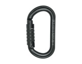 PETZL • Mousqueton OK Triact-Lock noir, verrouillage automatique-mousquetons
