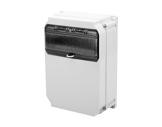 PCE • Boitier thermoplastique+ fenetre 10mod 320x222x114-cablage