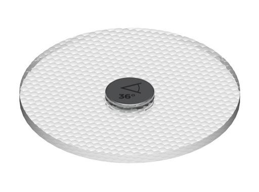 SNAP Filtre optique angle 36° pour LEDs MR16, PAR20 Soraa 10° • SORAA
