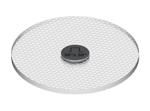 SORAA • SNAP Filtre optique carré 36° x 36° pour LEDs MR16, PAR20 Soraa 10°