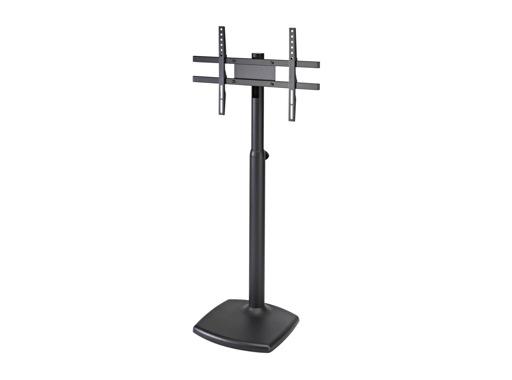 "K&M • TV Stand H 1000 à 1650 mm TV, écran plat 24 à 46"", embase 42 x 42 cm"