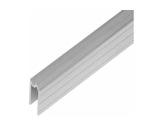 Profilé Alu • Hybride Long 2m 27 x 21,8 x 1,5mm, écartement 7,7mm-flight-cases