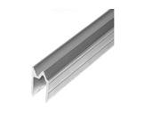 Profilé Alu • Hybride Long 2m 27,5 x 22,5x 1,5mm, écartement 10mm-flight-cases