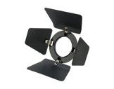 Volet 4 faces noir pour projecteur PAR16 L708CE/CH-accessoires