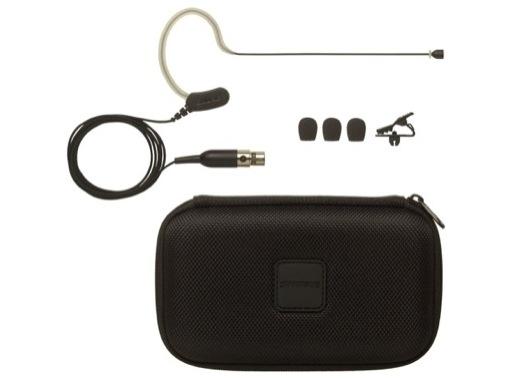 SHURE • Micro tour d'oreille MX153B statique omnidirectionnel