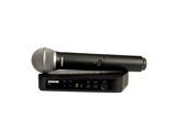 SHURE • Système HF complet, micro main dynamique cardioïde PG58, série BLX-audio