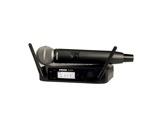 SHURE • Système HF complet, micro main dynamique cardioïde SM58, série GLXD-audio