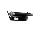 SHURE • Système HF complet, micro main dynamique supercardio. BETA58, série GLXD-audio