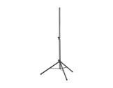 Pied d'enceinte noir H:1,95m charge 25kgs Ø35mm-audio