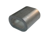 MANCHON ALU • Ø 8 mm sac de 100 pour câble 8 mm-structure-machinerie