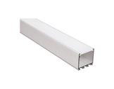 ESL • Profil alu anodisé pour Led 2.00m + diffuseur opaline LIPOD-eclairage-archi--museo-