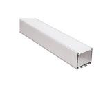 ESL • Profil alu anodisé pour Led 1.00m + diffuseur opaline LIPOD-eclairage-archi--museo-