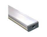 ESL • Profil PVC 18 mm Micro pour Led 1.00m + diffuseur opaline-profiles-et-diffuseurs-led-strip
