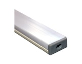 ESL • Profil PVC 18 mm Micro pour Led 2.00m + diffuseur opaline-profiles-et-diffuseurs-led-strip