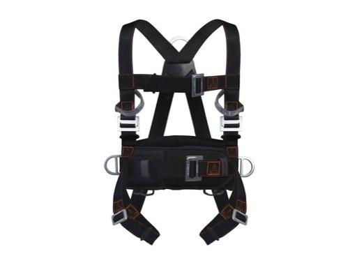 HARNAIS • Avec ceinture de maintien, 2 points accroches (dorsal et sternal)