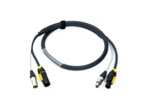 CABLE HYBRIDE • 3G2,5 + 2X0.22 TRUE ONE & XLR3 3m-hybrides