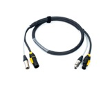 CABLE HYBRIDE • 3G2,5 + 2X0.22 TRUE ONE & XLR3 5m-hybrides