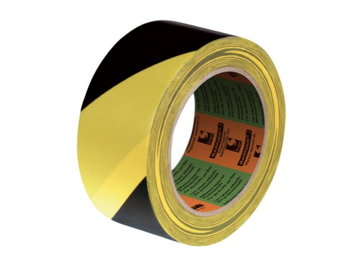 SCAPA • Adhésif signalisation jaune noir 50mm x 33m