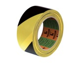 Adhésif signalisation jaune noir 50mm x 33m • SCAPA-adhesifs