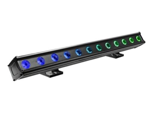 PROLIGHTS • Barre à leds LUMIPIX12QIP 12 x 8W RVBW FC IP65