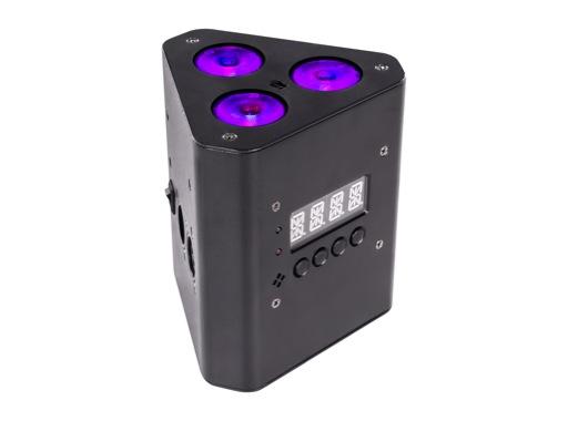 PROLIGHTS • Projecteur à leds de structure/boite ambre sur batterie