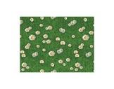 MOQUETTE IMPRIMEE • Gazon Fleuri - Rouleau de 1,5 m x 30 ml soit 45 m2 Bfl-S1-textile