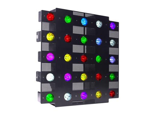 PROLIGHTS • Matrice à leds CHROMAPIX 25 x 10W RGBW OSRAM 6° IP20 315W