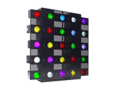 Matrice à leds CHROMAPIX 25 x 10W RGBW OSRAM 6° IP20 315W • PROLIGHTS-blinders--sunstrip