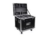 PROLIGHTS • Flightcase pour 4 Halupix-eclairage-spectacle
