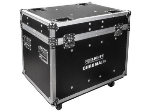 PROLIGHTS • Flightcase pour 4 CHROMAPIX