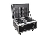 PROLIGHTS • Flight case recharge pour 6 LION-eclairage-spectacle