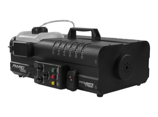PROLIGHTS • Machine à fumée PHYRO1500D 1500W DMX