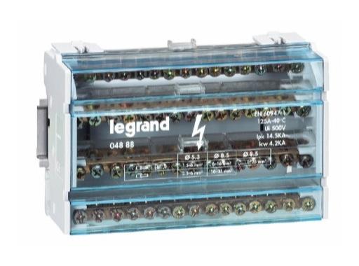 LEGRAND • Repartiteur tetrapolaire 125A