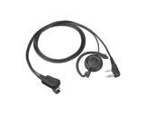 KENWOOD • Micro-cravate EMC12W avec oreillette & touche pour séries TK & LJ-audio