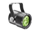 Projecteur FOCUS 3 LEDs Full RGBW 22° IP65 gris anthracite • DTS-projecteurs-en-saillie
