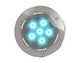 DTS • Projecteur immergeable DIVE 6 encastré 6 LEDs Full RGBW 22° IP68-eclairage-archi--museo-