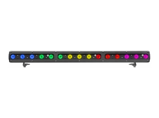 DTS • Barre FOS 100 DYNAMIC 15 LEDs Full RGBW 28° 1 m IP65 noire