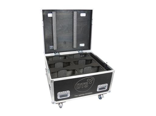 DTS • Flight case Pro pour 6 lyres NICK NRG 501 / NICK NRG 801