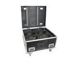 DTS • Flight case Pro pour 6 lyres NICK NRG 501 / NICK NRG 801-eclairage-spectacle