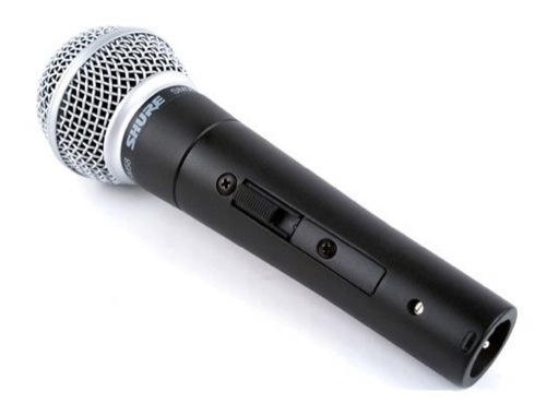 SHURE • Micro voix SM58SE dynamique cardioïde + interrupteur