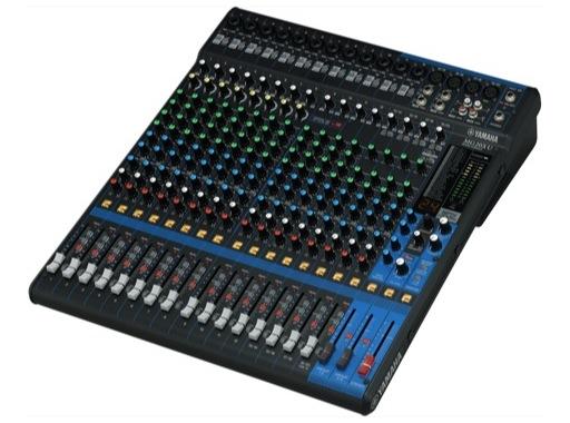 YAMAHA • Console analogique 20 entrées, 16 Mic, Line: 12m + 4st, 4 aux, SPX, USB